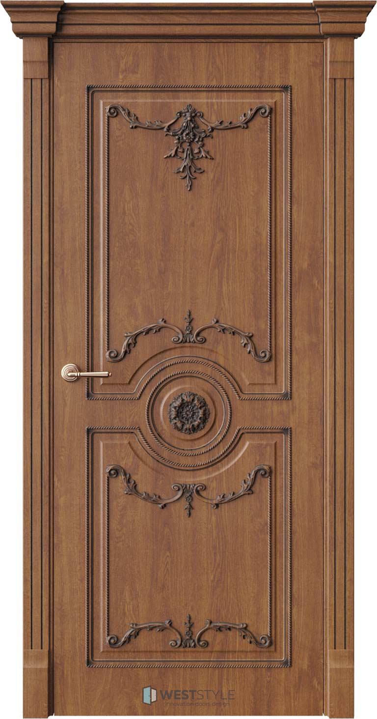 Межкомнатная дверь Межкомнатная дверь Bogacho Андреа лайт Золотой дуб