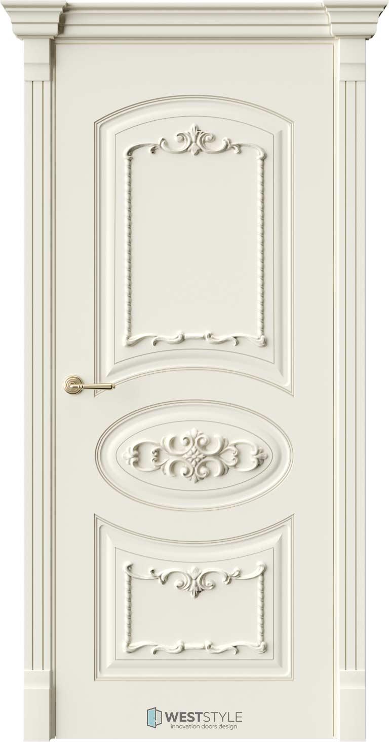 Межкомнатная дверь Межкомнатная дверь Bogacho Лоренцо Ваниль