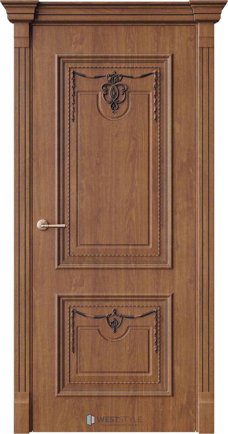 Межкомнатная дверь Межкомнатная дверь Bogacho Новара Золотой дуб