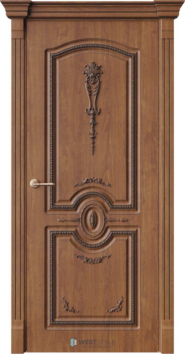 Межкомнатная дверь Межкомнатная дверь Bogacho Цезарь Золотой дуб