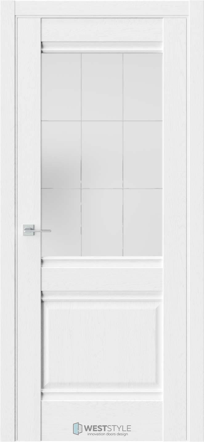 Межкомнатная дверь Ch 6 Дуб Винта стекло 5