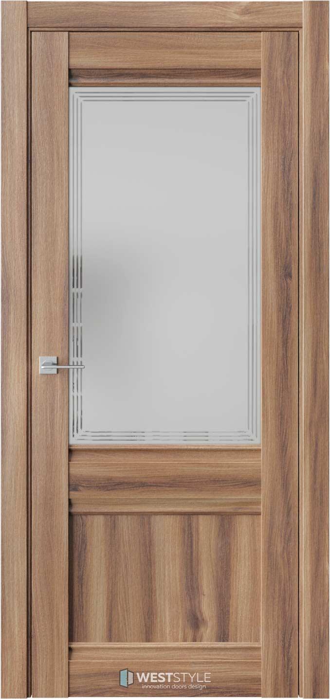 Межкомнатная дверь ChE 6 Онтарио стекло 4