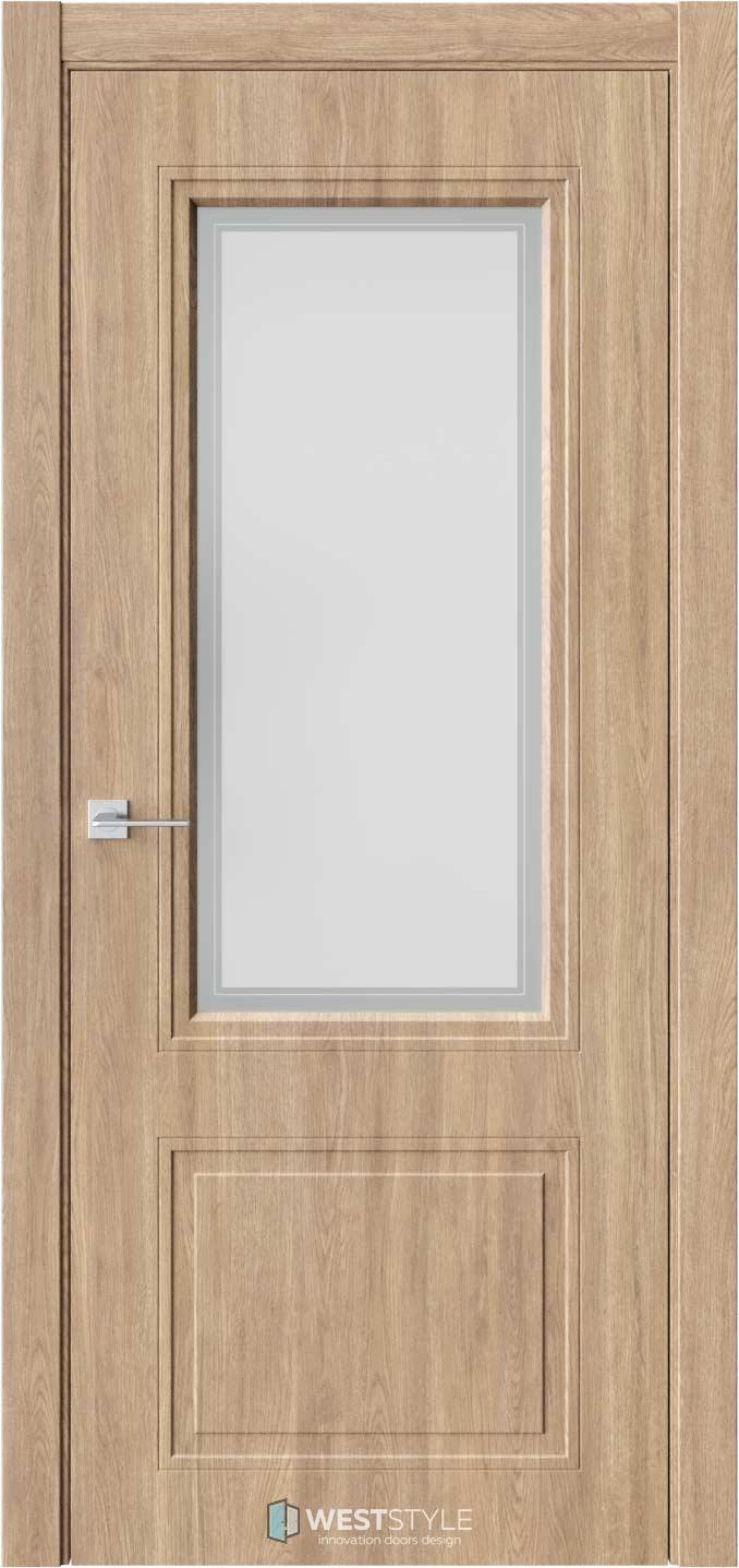 Межкомнатная дверь Eliss 4 Брандо стекло