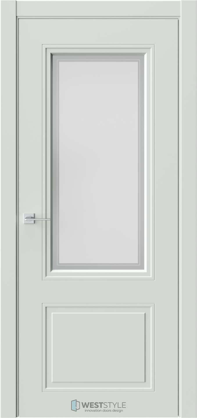 Межкомнатная дверь Eliss 4 RAL7038