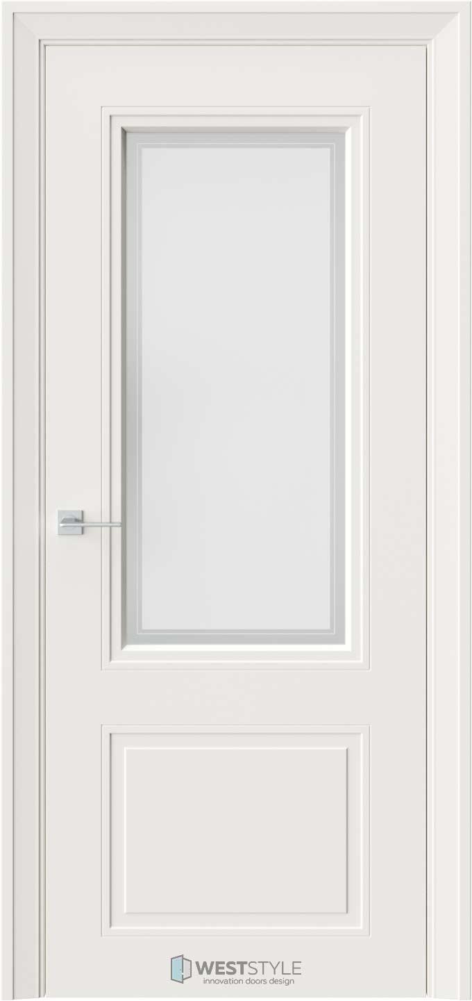 Межкомнатная дверь Eliss 4 RAL9010