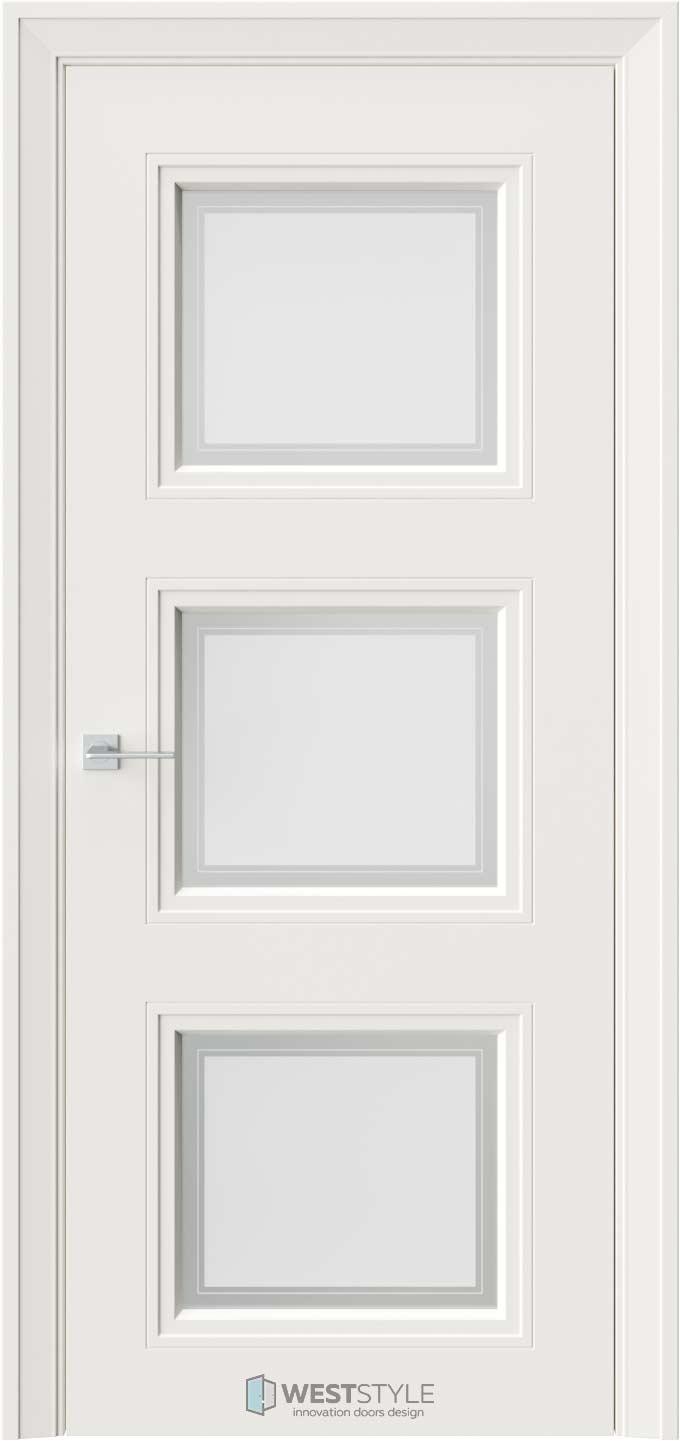 Межкомнатная дверь Eliss 6 RAL9010