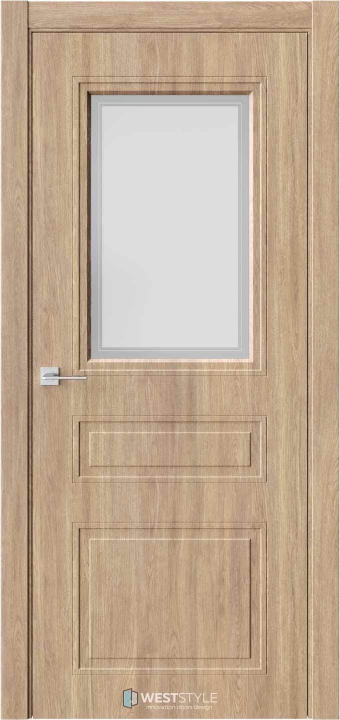 Межкомнатная дверь Eliss 8 Брандо стекло