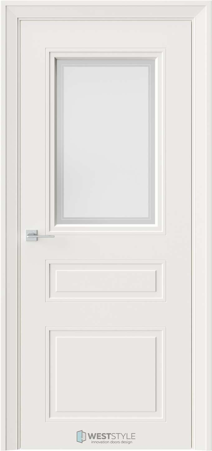 Межкомнатная дверь Eliss 8 RAL9010