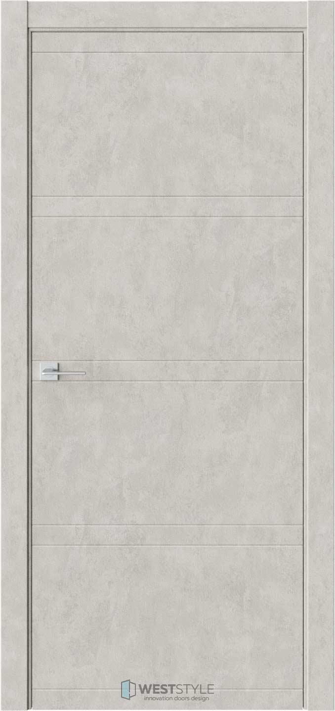 Межкомнатная дверь EVO 0 Бетон Смоки