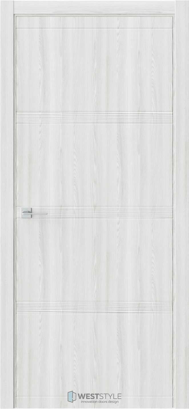 Межкомнатная дверь EVO 0D Клён Айс