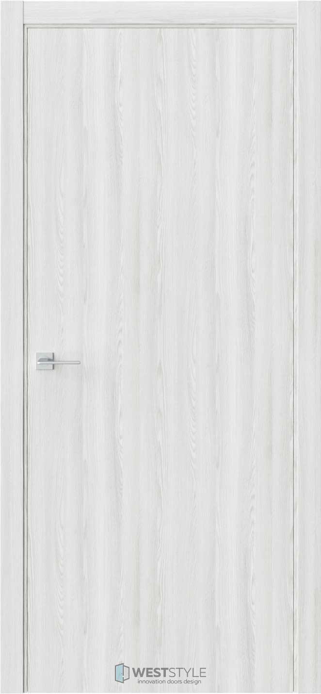 Межкомнатная дверь ГЛАДКОЕ Клён Айс