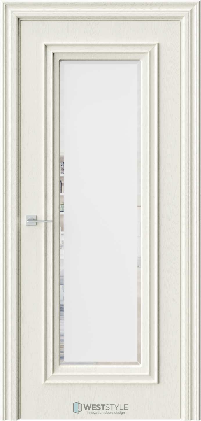 Межкомнатная дверь KB 2 Дуб Монтана стекло 1