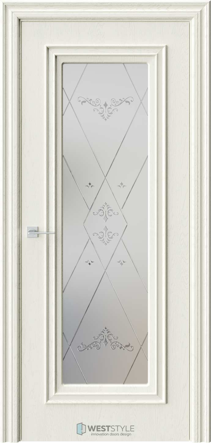 Межкомнатная дверь KB 2 Дуб Монтана стекло 3