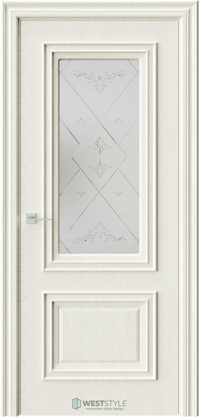 Межкомнатная дверь KB 4 Дуб Монтана стекло 3