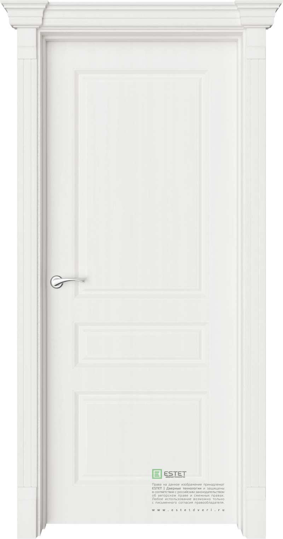 Межкомнатная дверь Межкомнатная дверь Provence Мирбо 1 Белое дерево