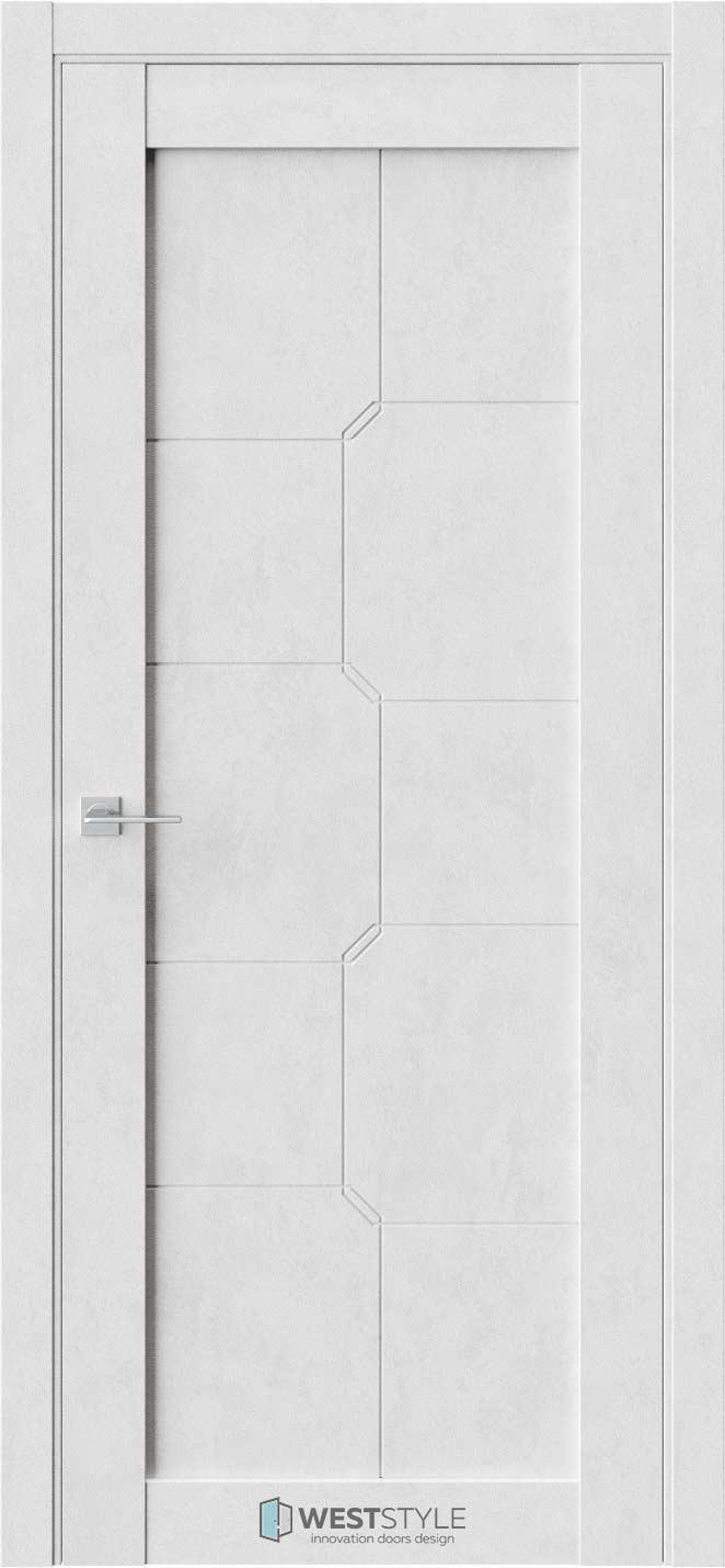 Межкомнатная дверь Межкомнатная дверь NR 1 P10 Бетон лайт