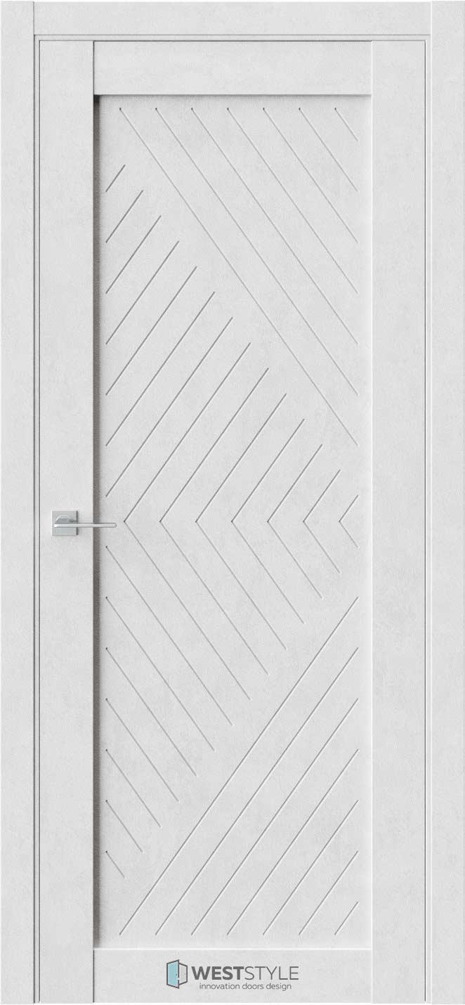 Межкомнатная дверь Межкомнатная дверь NR 1 P13 Бетон лайт