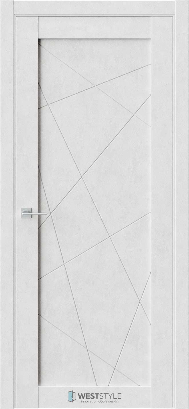 Межкомнатная дверь Межкомнатная дверь NR 1 P1 Бетон лайт