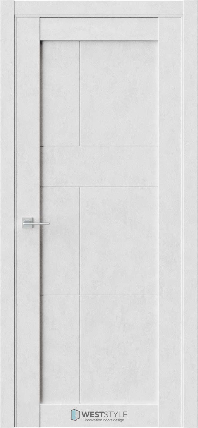 Межкомнатная дверь Межкомнатная дверь NR 1 P9 Бетон лайт