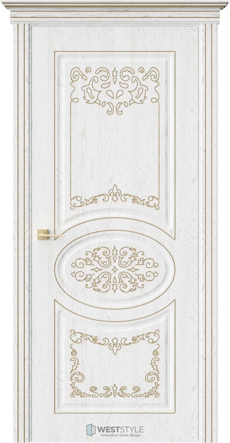 Межкомнатная дверь ПРЕЗИДЕНТ Дуб Винта