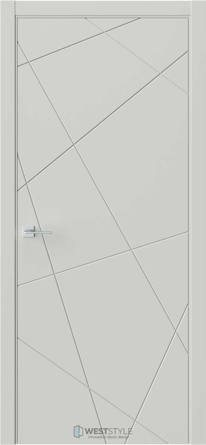 Межкомнатная дверь Prime P1 RAL7038