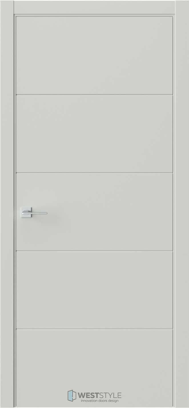 Межкомнатная дверь Prime P2 RAL7038