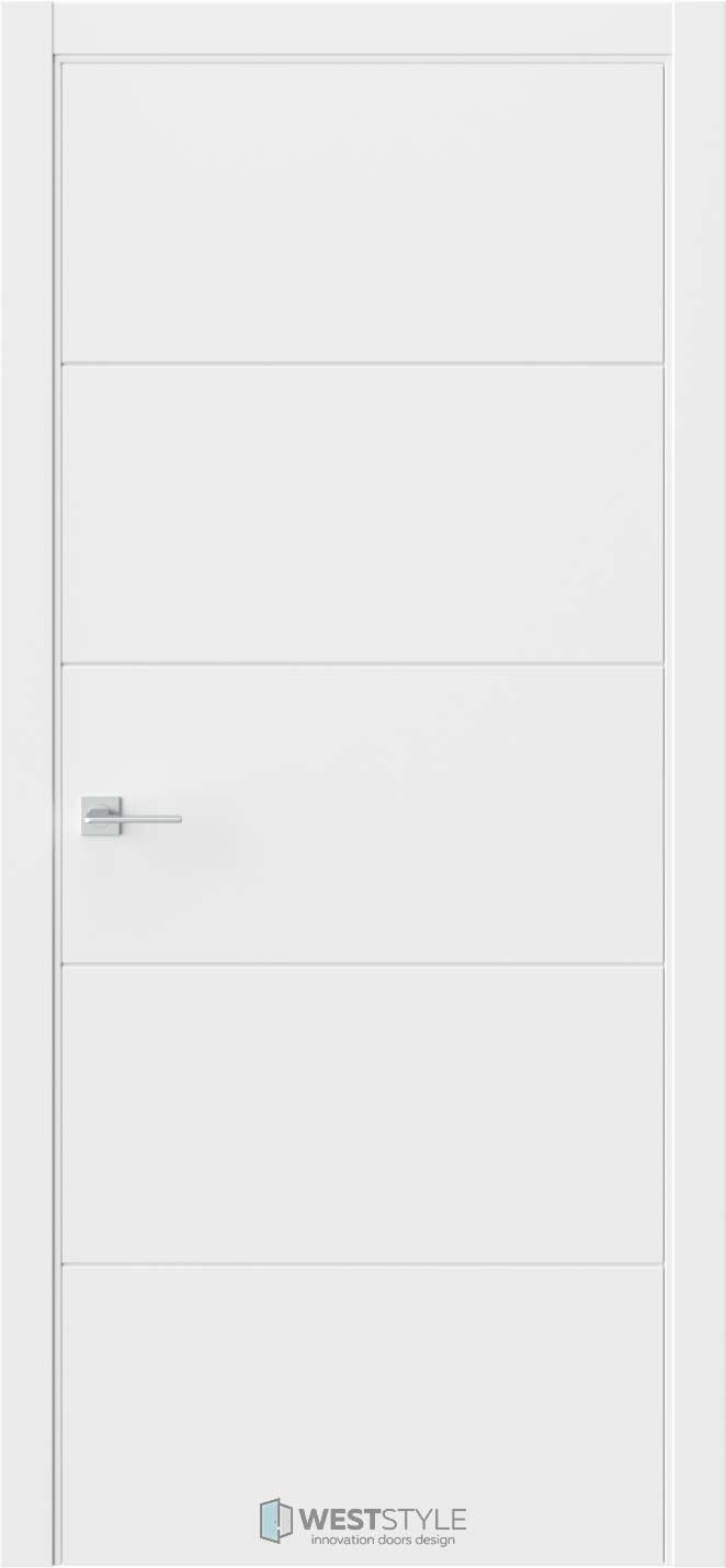 Межкомнатная дверь Prime P2 RAL9003