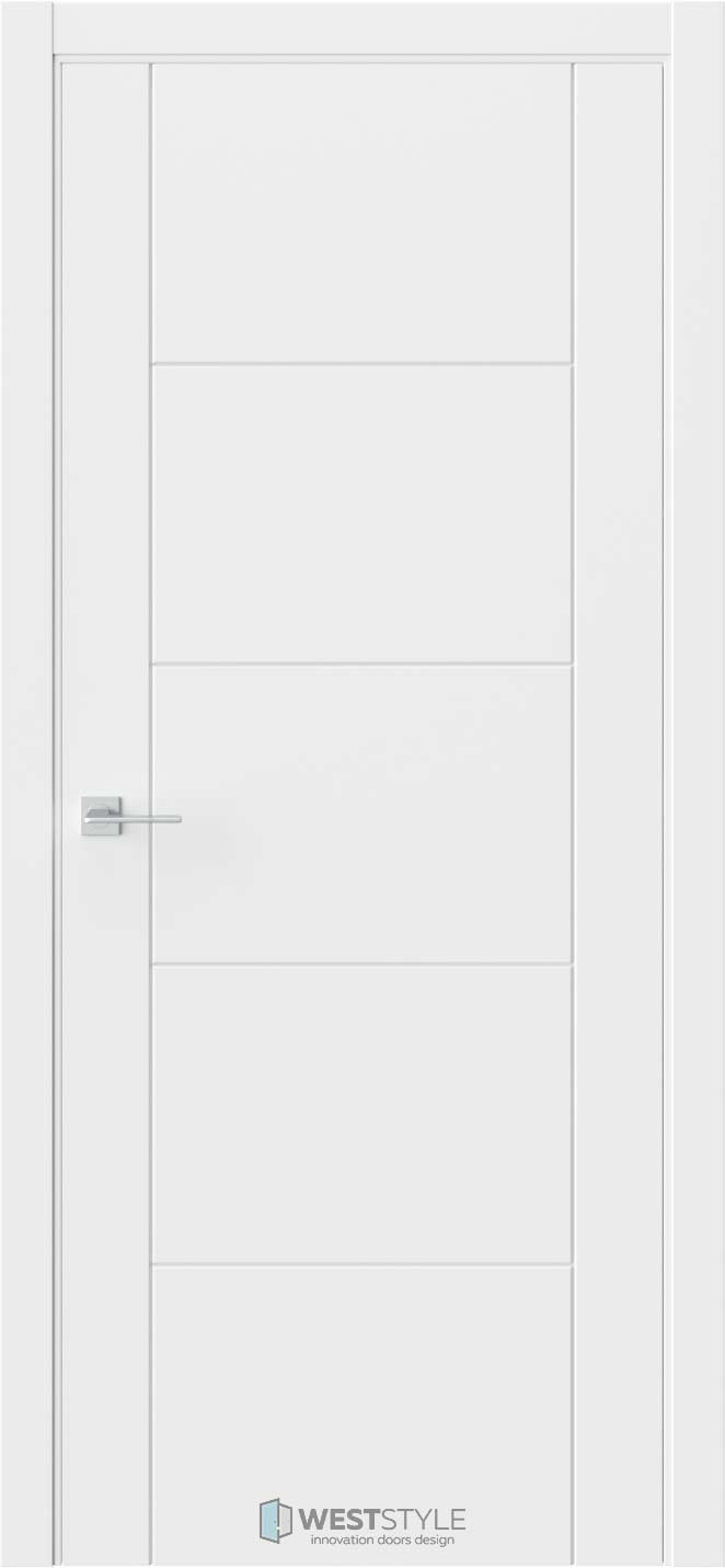 Межкомнатная дверь Prime P3 RAL9003
