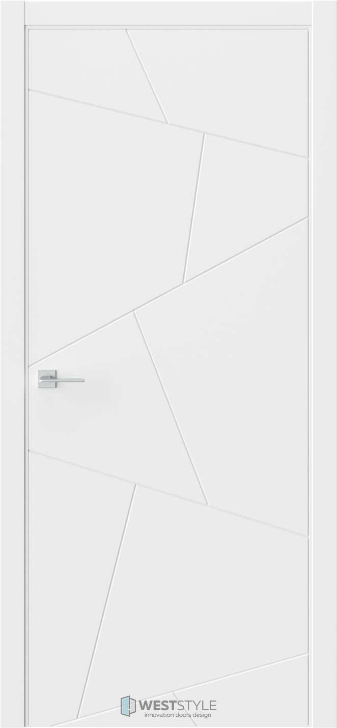 Межкомнатная дверь Prime P4 RAL9003