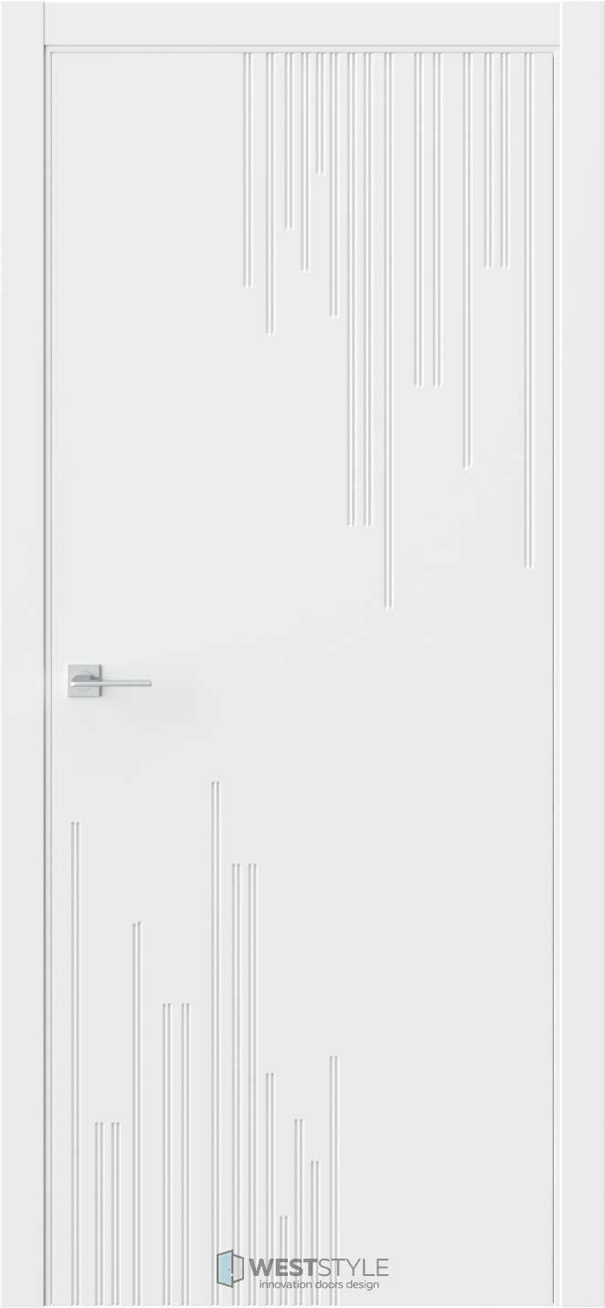 Межкомнатная дверь Prime P5 RAL9003