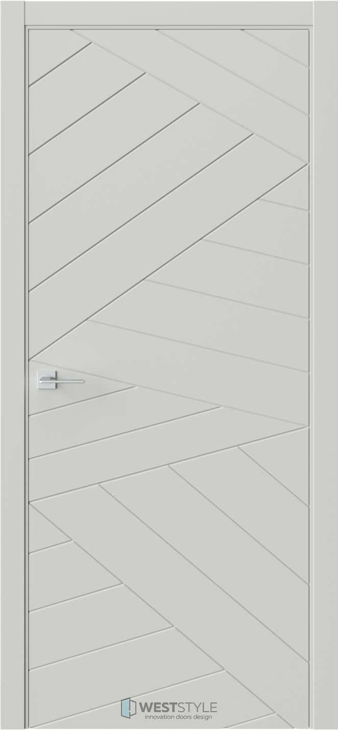 Межкомнатная дверь Prime P7 RAL7038