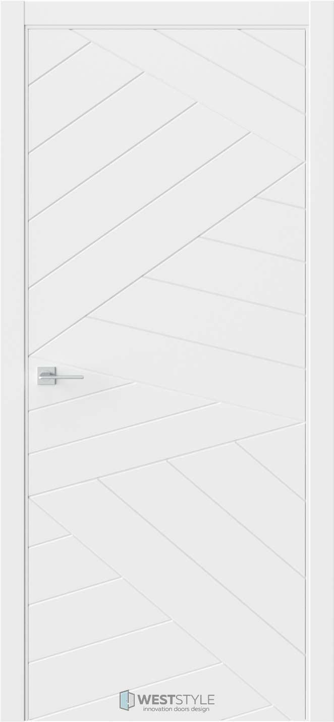 Межкомнатная дверь Prime P7 RAL9003