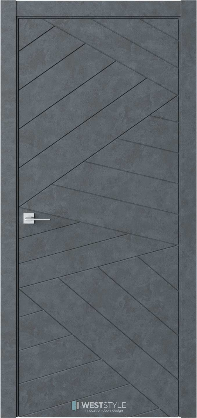 Межкомнатная дверь Prime P7 Бетон Маренго