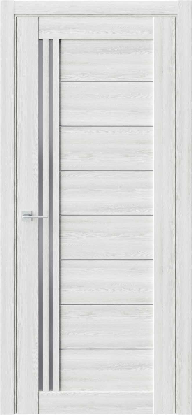 Межкомнатная дверь Межкомнатная дверь RE58 Клён айс Стекло графит