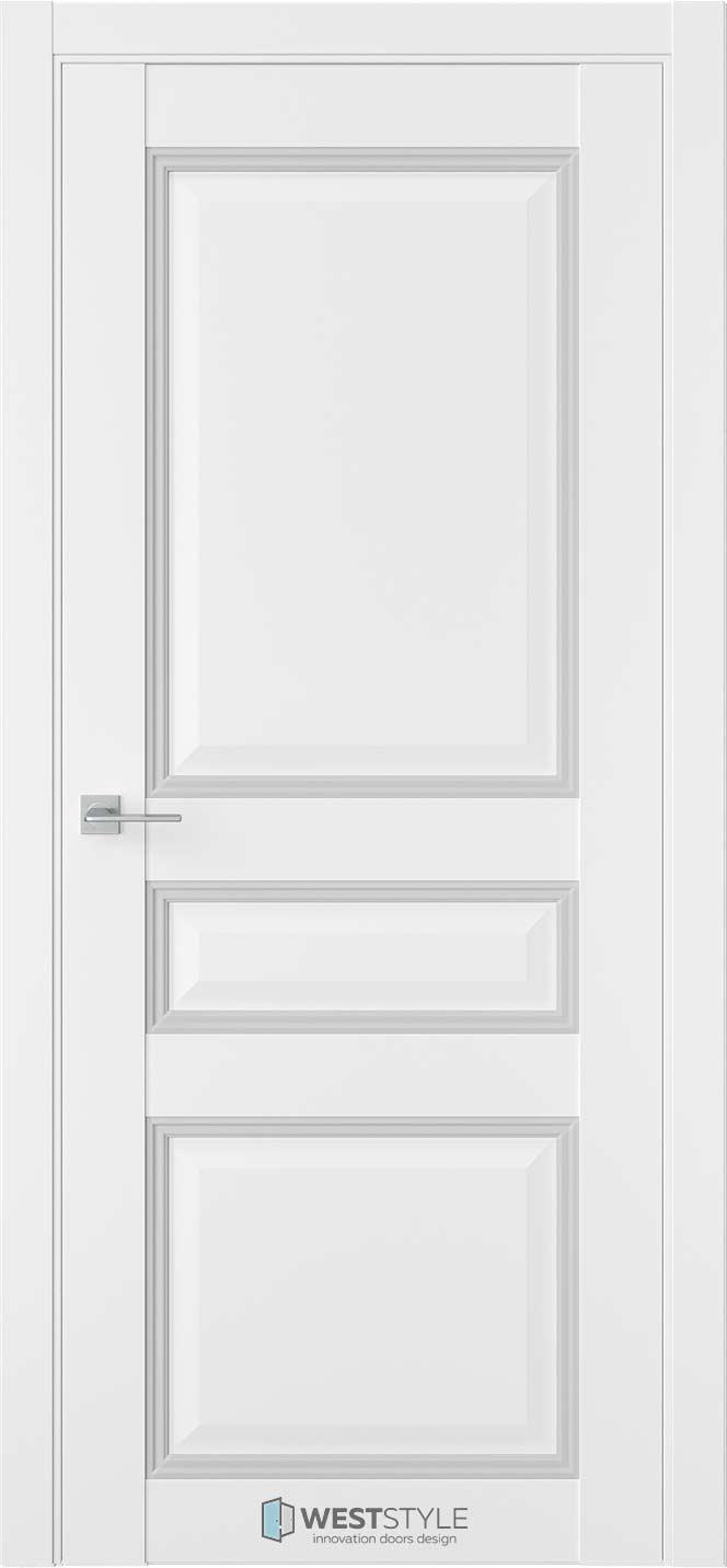 Межкомнатная дверь Межкомнатная дверь TF 5 Emlayer белый 2
