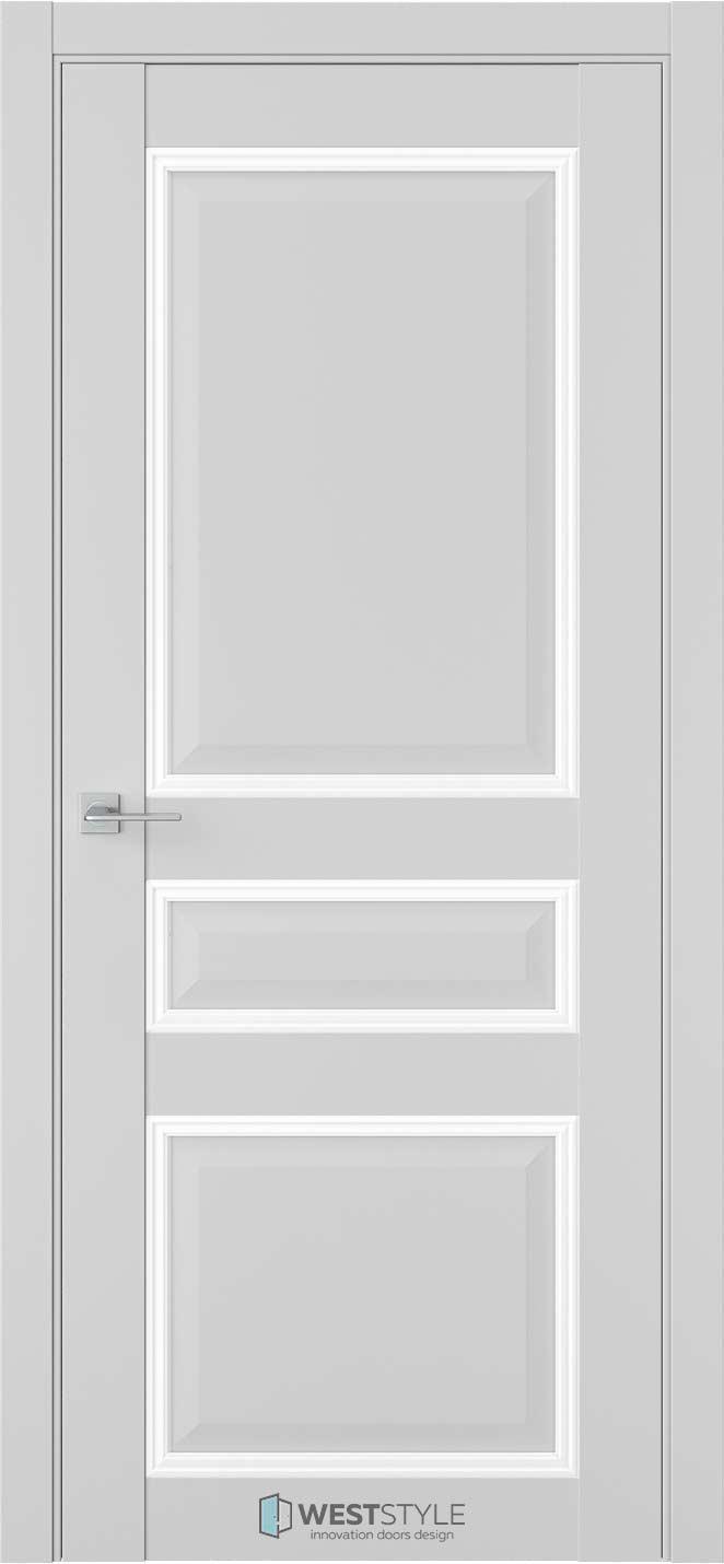 Межкомнатная дверь Межкомнатная дверь TF 5 Emlayer серый