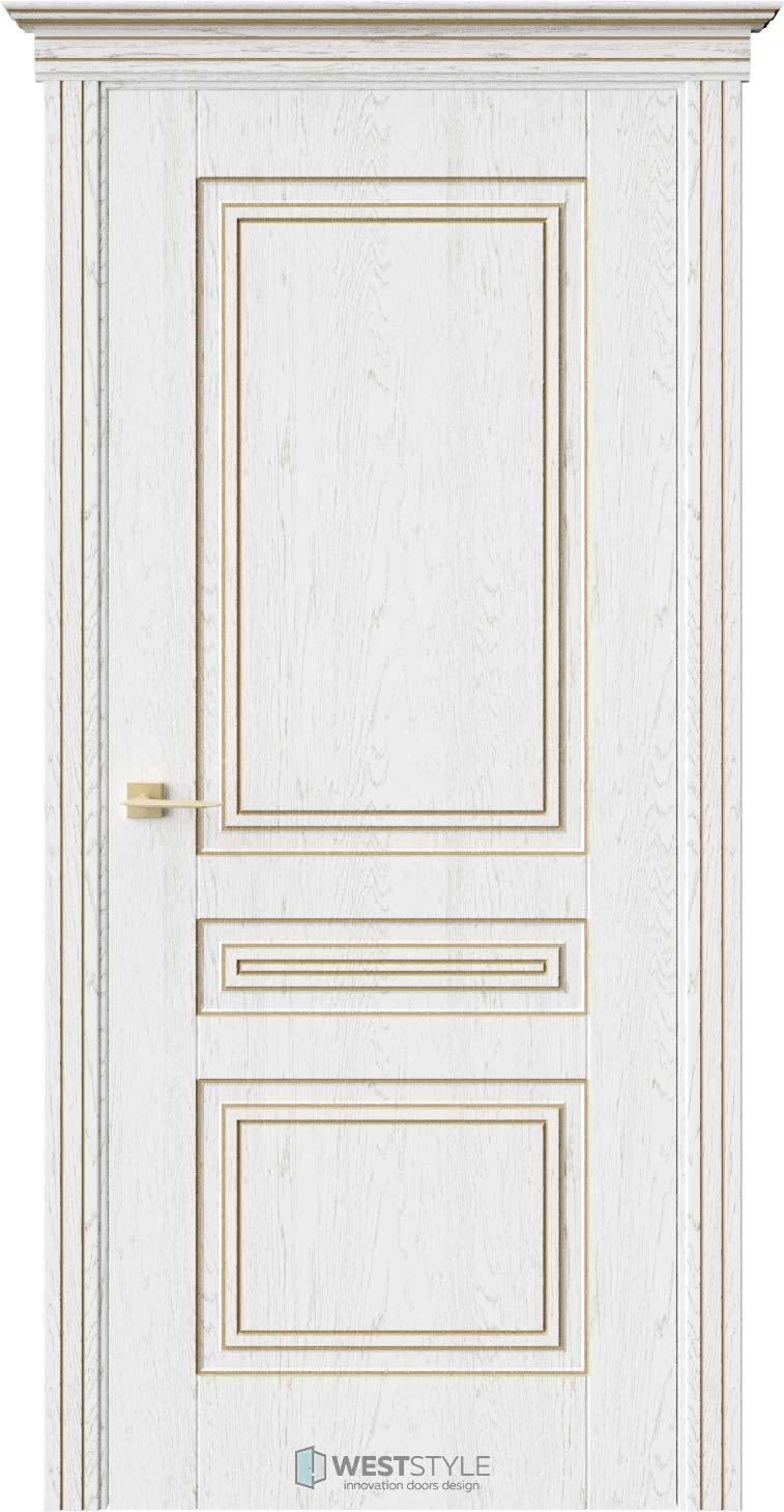 Межкомнатная дверь ТРИО Дуб Винта