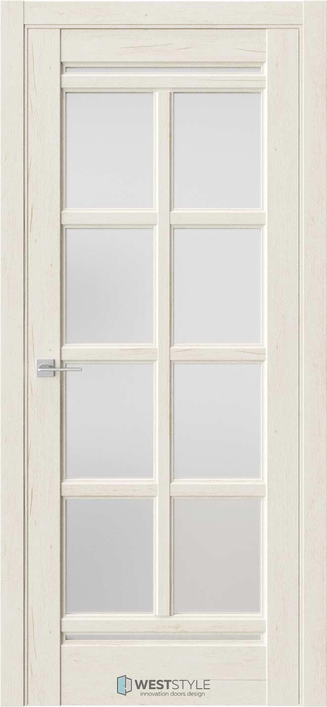 Межкомнатная дверь Межкомнатная дверь WSE 16 Дуб джентл стекло