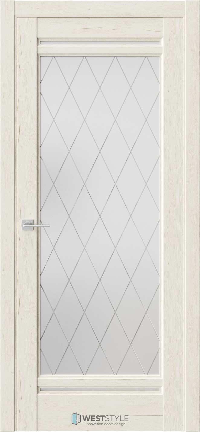 Межкомнатная дверь Межкомнатная дверь WSE 2 Дуб джентл стекло 2