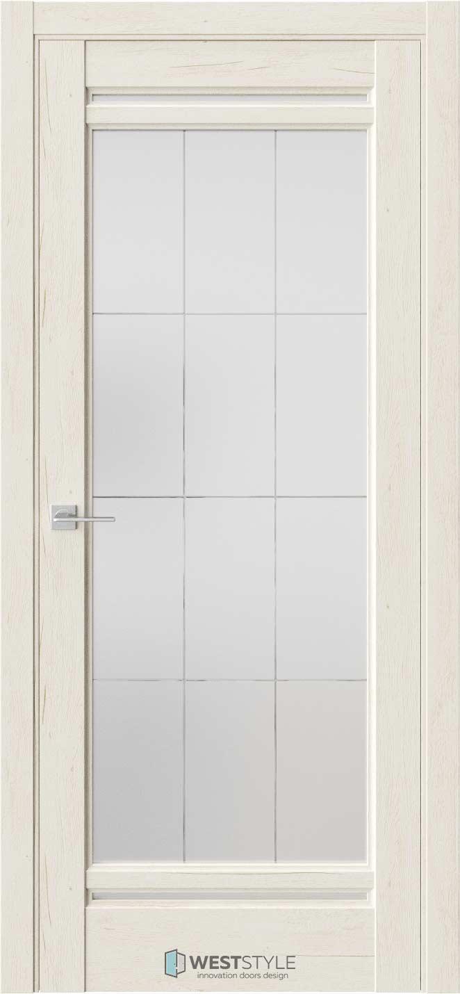 Межкомнатная дверь Межкомнатная дверь WSE 2 Дуб джентл стекло 3