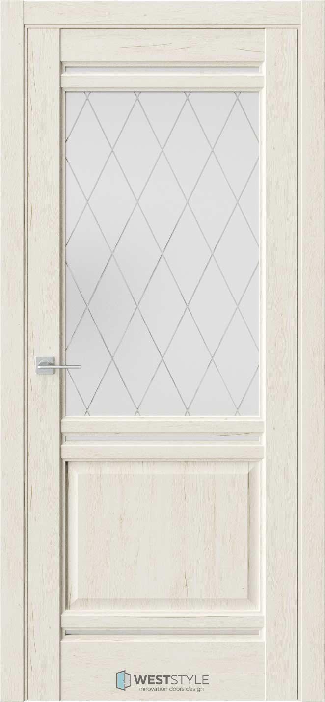 Межкомнатная дверь Межкомнатная дверь WSE 4 Дуб джентл стекло 2