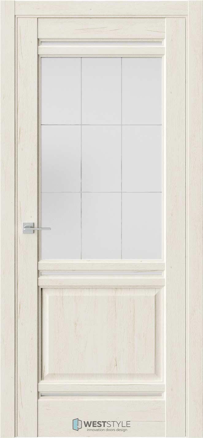Межкомнатная дверь Межкомнатная дверь WSE 4 Дуб джентл стекло 3