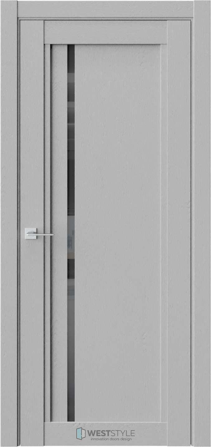 Межкомнатная дверь XC 5 Интенсо черное стекло