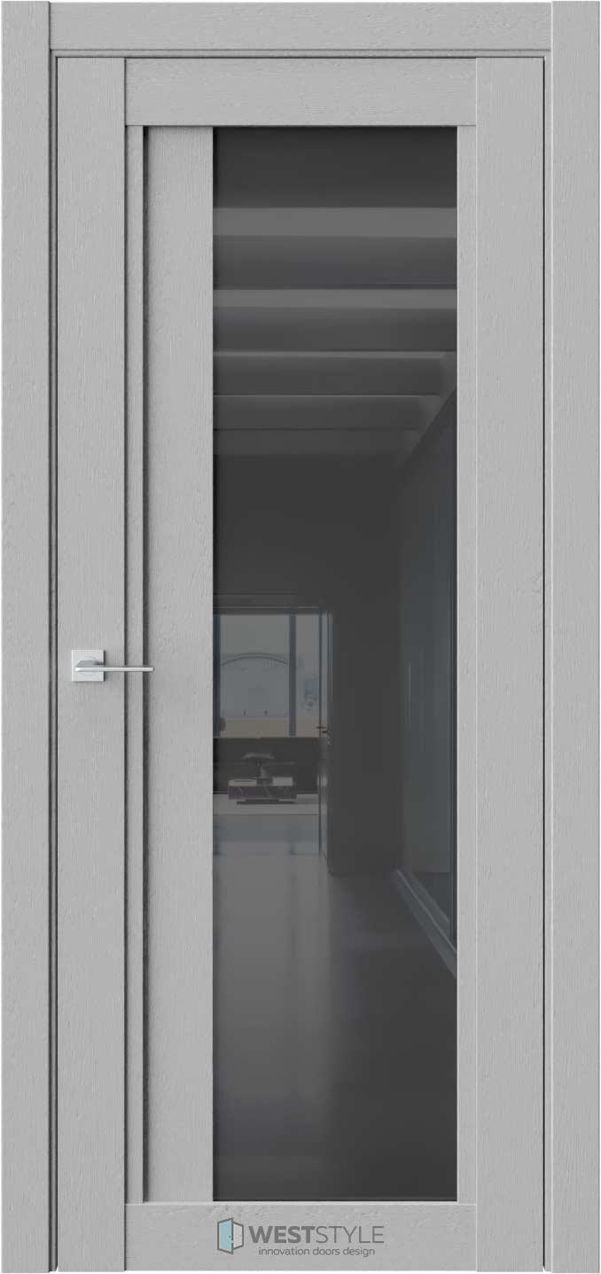 Межкомнатная дверь XC 7 Интенсо черное стекло