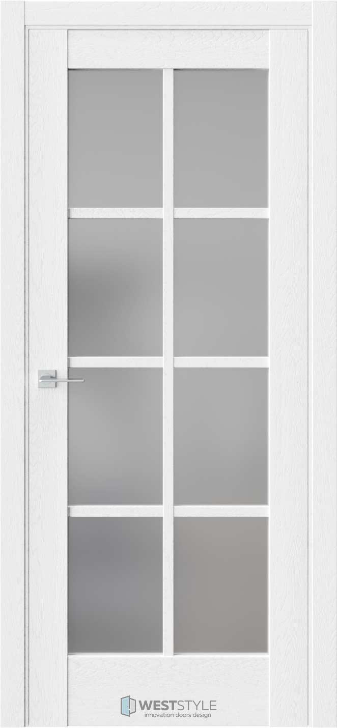 Межкомнатная дверь Z 2 Дуб Винта стекло