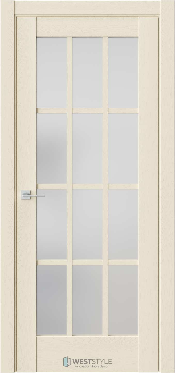 Межкомнатная дверь Z 7 Дуб Монтана стекло
