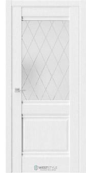 Межкомнатная дверь Ch 6 Дуб Винта стекло 3