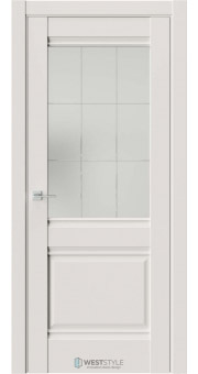 Межкомнатная дверь Ch 6 Emlayer Серый стекло 5