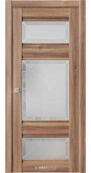 Межкомнатная дверь ChE 10 Онтарио стекло 4