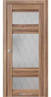 Межкомнатная дверь ChE 10 Онтарио стекло 1